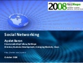Social Networking Fundamentals