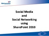 Social Media and Social Networking ...