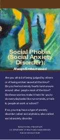 Global Medical Cures™|  Social phobia (Social Anxiety Disorder)