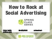 How to Rock Social Advertising!