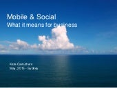 Social and mobile for business