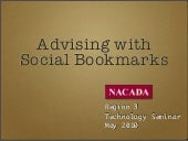 Advising with Social Bookmarks