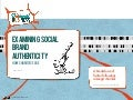 Social Brand Authenticity for Charities