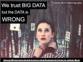 (Graham Brown) We trust big data but the data is wrong: social business and privacy