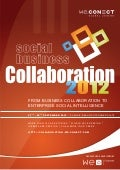 Social Business Collaboration 2012 Agenda