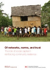 Social capital report of norms, net...