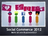 Social Commerce Trends 2012