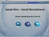 Social Recruitment, Social Media Re...