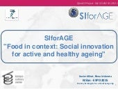 Social Innovation for Healthy Aging 2015