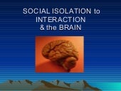 Socialisolation May22