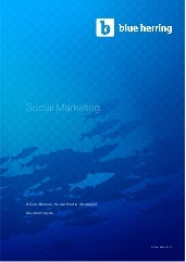 Social marketing - Grundlagen