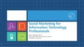 Social marketing for information te...