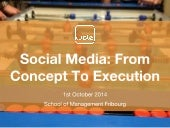 Social Media: From Concept To Execution