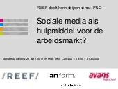 Social media hrm-robdegroot-renevdb...