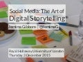 Social Media - The Art of Digital Storytelling