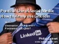 Social Media and LinkedIn for IFAs and Financial Planners - Full-day workshop 26th September 2013