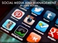 Social media and management