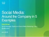 Social Media Around the Company In ...