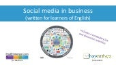 Social media in a business context