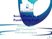 Social Media as a Fundraising Tool