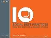 10 Social Best Practices from the Best Social Brands of 2013