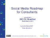 Social media consultants roadmap fo...