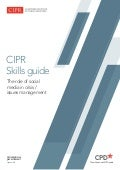 CIPR Skills Guide: The role of social media in crisis / issues management