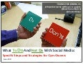 Social Media - The Dos And Don'ts