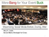 Using Social Media at Events: Best ...
