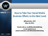 Effective Social Media Usage for Bu...