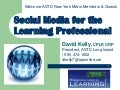 Social Media for Learning Professionals