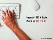 SEO & Social Media for Non-Profits