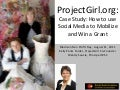 Social media for Non Profits | ProjectGirl.org Success