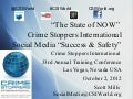 Social Media For Success & Safety CSIWorld.org 33rd Annual Training Conference Las Vegas 2012
