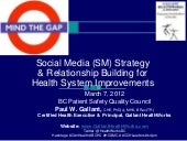 Mind the Gap: Social Media (SM) Str...