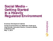 Social media -  Getting started n a...