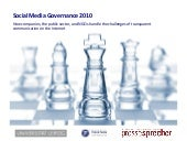 Social Media Governance 2010 Englis...