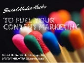 Social Media Hacks To Fuel Your Content Marketing