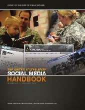 United States Army Social media han...
