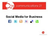 Social Media For Business, Can It W...