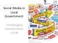 Social media in local government