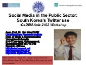 Social media in the public sector s...