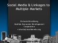 Social Media & Linkages To Multiple Markets