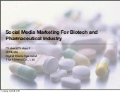Social Media Marketing For Biotech ...