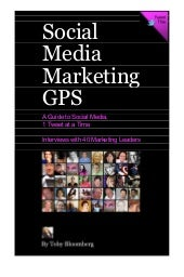 Social media marketing gps from div...