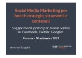 Social Media Marketing per hotel: s...