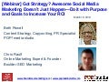 Got Social Media Marketing Strategy