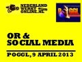 Social media or 9 april poggl