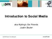 Intro to Social Media - for Account...