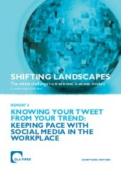 DLA Piper Social media report 2011